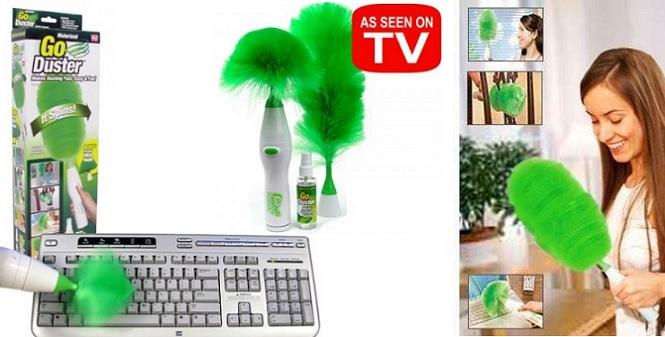 Ηλεκτρικό ξεσκόνιστήρι μπαταρίας - TV είδη καθαρισμού   γενικής χρήσης