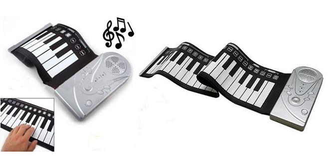 Ευλίγιστο Πιάνο Αφής με 49 πλήκτρα! - TV παιχνίδια   μουσικά όργανα