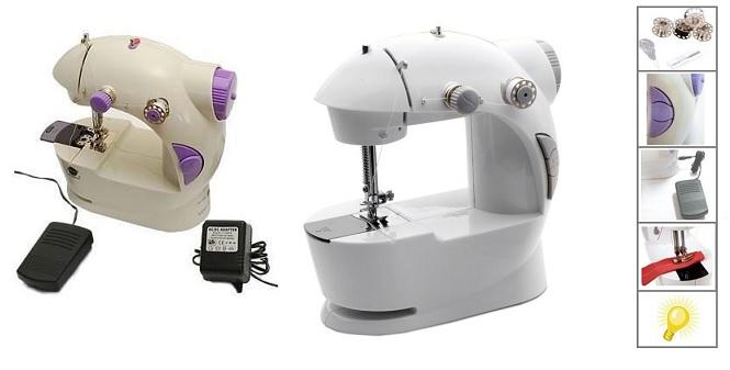 Ραπτομηχανή με Μπουτόν Ποδιού, Εγκοπή Στριφωμάτων, Φωτιζόμενη, Ρεύματος Μπαταρία καθαριότητα και σιδέρωμα   ραπτομηχανές και αξεσουάρ ραπτικής