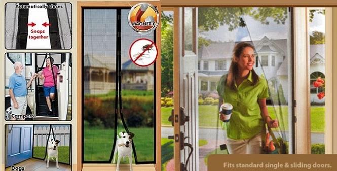 Σήτα εισόδου, Door Mesh σε μεγαλύτερη διάσταση, 1.02x210εκ! - TV κήπος και βεράντα   εντομοαπωθητικά