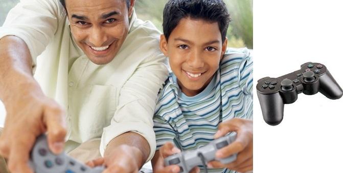 Ασύρματο χειριστήριο 2.4G συμβατό με PS2! - TV παιχνίδια   παιχνιδοκονσόλες και αξεσουάρ gaming