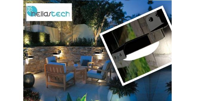 Solar Outdoor Light με 16 Led & σκελετό αλουμινίου – OEM