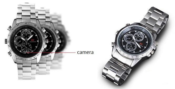 4GB HP/DVR Ρολόι χειρός, που μπορεί να χρησιμοποιηθεί για τη λήψη φωτογραφιών &  gadgets   gadgets