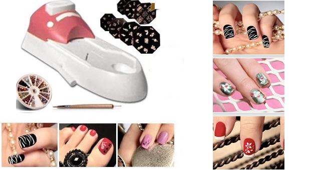 Συσκευή για να διακοσμείτε μόνες σας τα νύχια σας! - TV υγεία  και  ομορφιά   μανικιούρ   πεντικιούρ