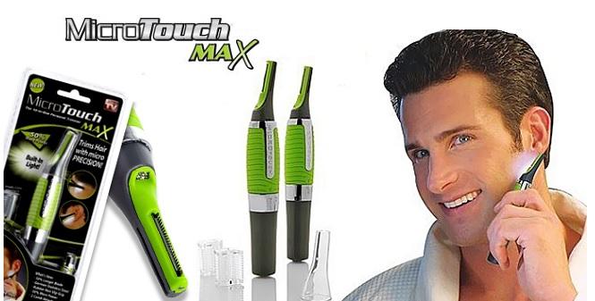 Micro Touch Max Hair Trimmer! Για μικρές και δύσκολες περιοχές! - Micro Touch υγεία  και  ομορφιά   αποτριχωτικές   κουρευτικές
