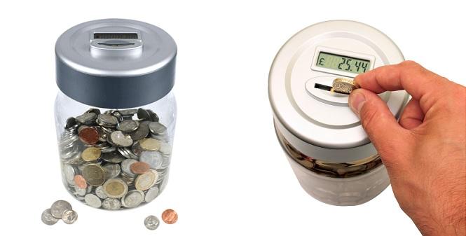 Κουμπαράς με ψηφιακό μετρητή κερμάτων ευρώ! - TV