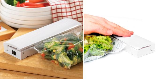 Συσκευή για να σφραγίσετε αεροστεγώς τρόφιμα, προσωπικά αντικείμενα, εργαλεία! - αξεσουάρ και εργαλεία κουζίνας   άλλα αξεσουάρ κουζίνας