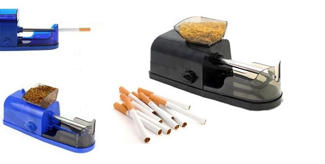 Ηλεκτρικό Μηχανάκι για γέμισμα άδειων τσιγάρων! - TV gadgets   gadgets