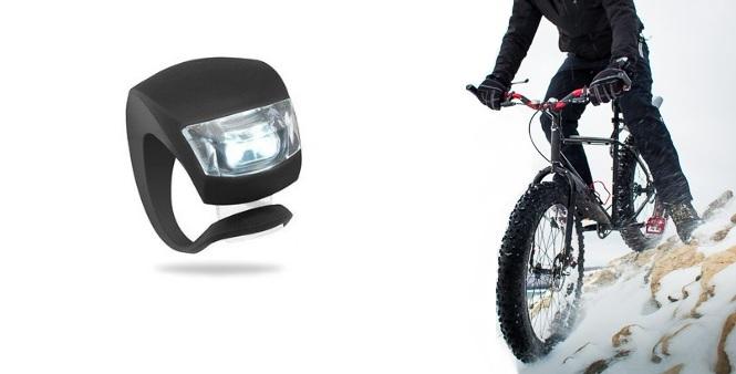 Φακοί ποδήλατου με 2 εξαιρετικά φωτεινά led σετ 2 τεμαχίων! Λευκό - TV αυτοκίνητο  μηχανή  ποδήλατο   αξεσουάρ ποδηλάτου