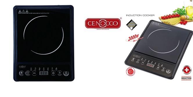 Μονή Ηλεκτρική Φορητή Επαγωγική Εστία 2000W Cenocco CC-8100 - Cenocco μικροσυσκευές   ηλεκτρικές εστίες