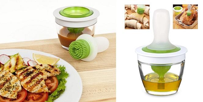 Επαναστατικό σύστημα ραντίσματος για φαγητά, γλυκά, μαγειρικά σκεύη! - Chef`sBas για την κουζίνα   κουζινομηχανές πολυκόφτες