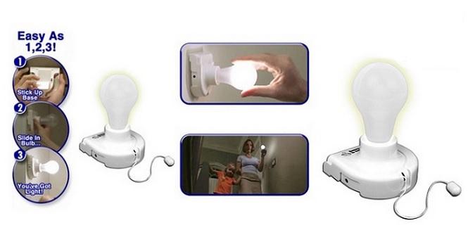 Ασύρματες Λάμπες έξυπνο φωτιστικό led 3 τεμάχια! - TV σπίτι και κήπος   ηλεκτρολογικός εξοπλισμός