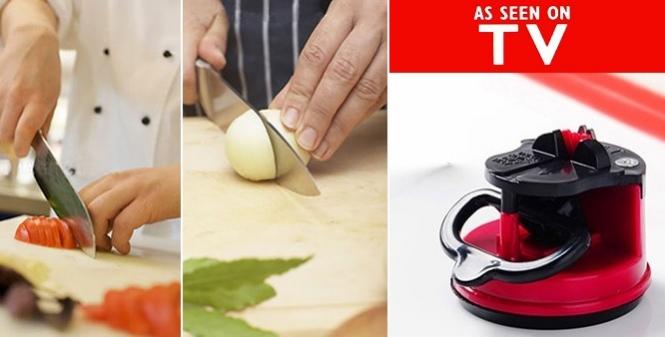 Ακονιστής μαχαιριών - TV οργάνωση κουζίνας   εργαλεία κουζίνας