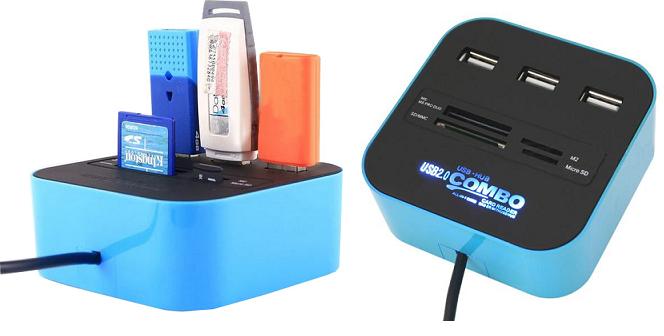 Memory Card Reader Combo - OEM περιφερειακά και αναλώσιμα   αξεσουάρ υπολογιστών
