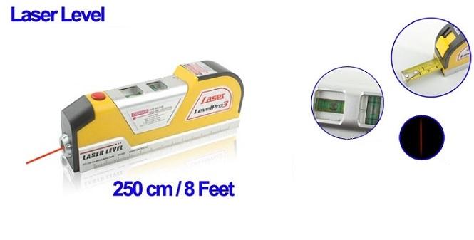 Μέτρο αλφάδι με lazer γραμμή οριζόντια κάθετη και σταυρό - TV εργαλεία για μαστορέματα   ηλεκτρικά εργαλεία