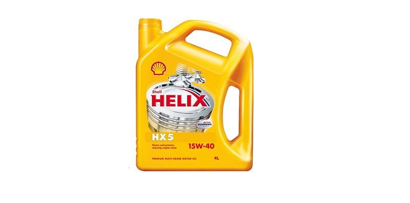 Λάδι Shell Helix HX5 15W-40 4 Lt! - Shell λιπαντικά   shell