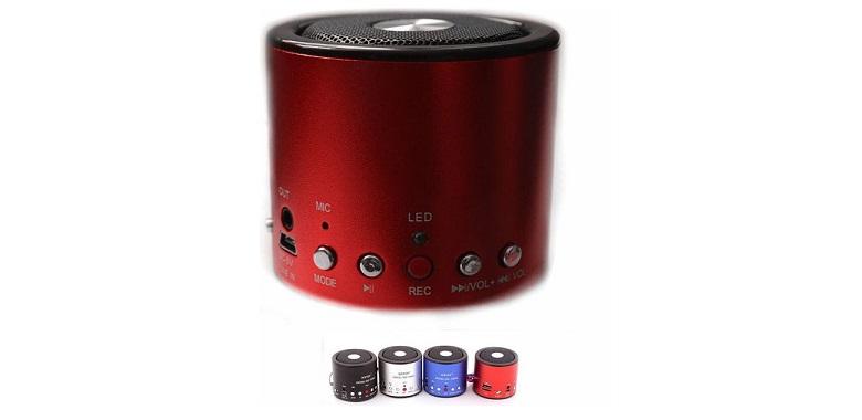 Φορητό Ηχείο WS-138RC με microSD/USB Player και Ραδιόφωνο! - CTK--WS-138RC ήχος   bluetooth και μικρά ηχεία