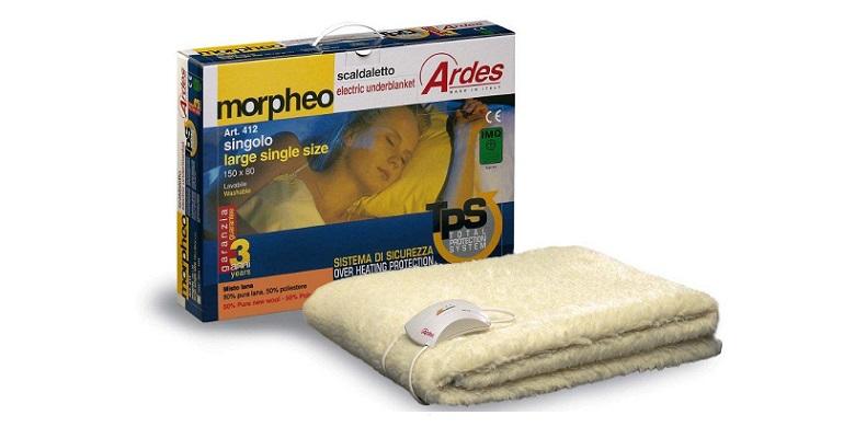 Ηλεκτρική Κουβέρτα μονή Ardes Morpheo 412! - Ardes είδη θέρμανσης ψύξης   ηλεκτρικές κουβέρτες