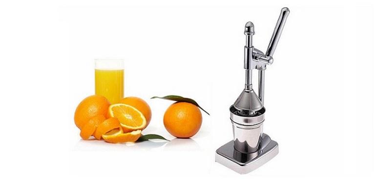 Χειροκίνητος Ανοξείδωτος Αποχυμωτής Φρούτων - Fruit Juicer! - PAK-FruitJuicer