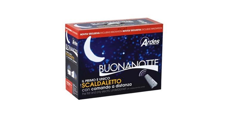 Ηλεκτρική Κουβέρτα Μονή Ardes 410 Buonanotte 16206! - Ardes λευκά είδη   χαλιά και κουβέρτες
