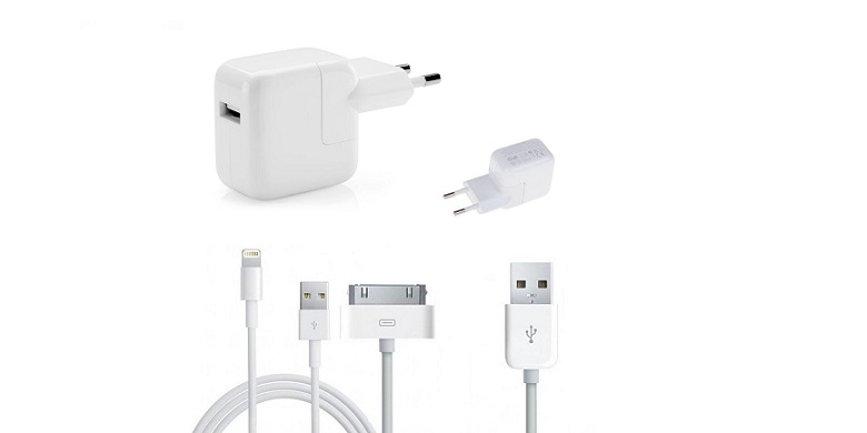 Σετ Τροφοδοσίας 2,1A για Κινητά Τηλέφωνα, iPhone 4/5, iPad, Tablet! - CPAK-2.1ΑC gadgets   φορτιστές