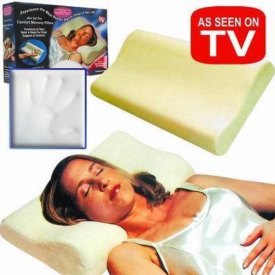 Ανατομικό Μαξιλάρι Memory Foam Pillow για Σωστή Στάση Σώματος και Άνετο Ύπνο - Memory Pillow