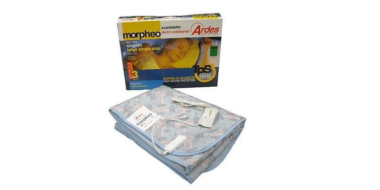 Ηλεκτρική Κουβέρτα Ακρυλική Μονή Ardes 413 Morfeo 16202! - Ardes λευκά είδη   χαλιά και κουβέρτες