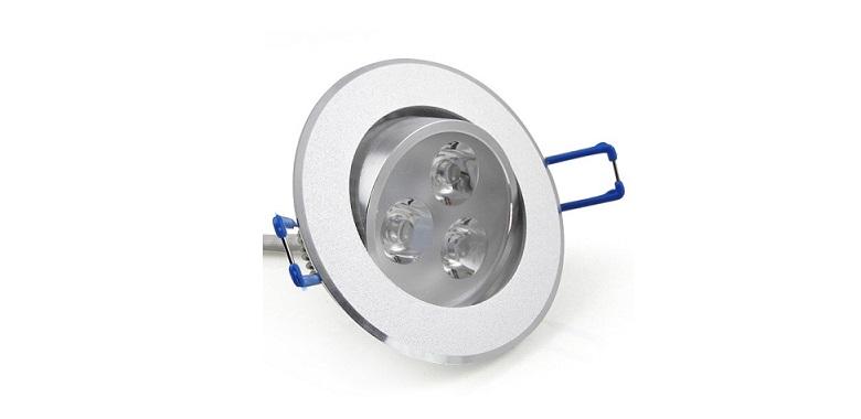 Φωτιστικό Οροφής Led SpotLight 60°-220v 3W/25W! - CTK-LedSpot3W διακόσμηση και φωτισμός   φωτιστικά