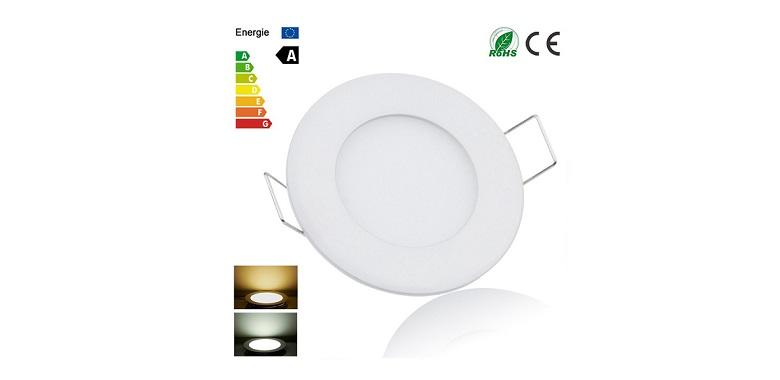 Φωτιστικό Οροφής Ultra Slim Led Panel Light 6W/40W! - CTK-LedPanel6W σπίτι   ηλεκτρολογικός εξοπλισμός