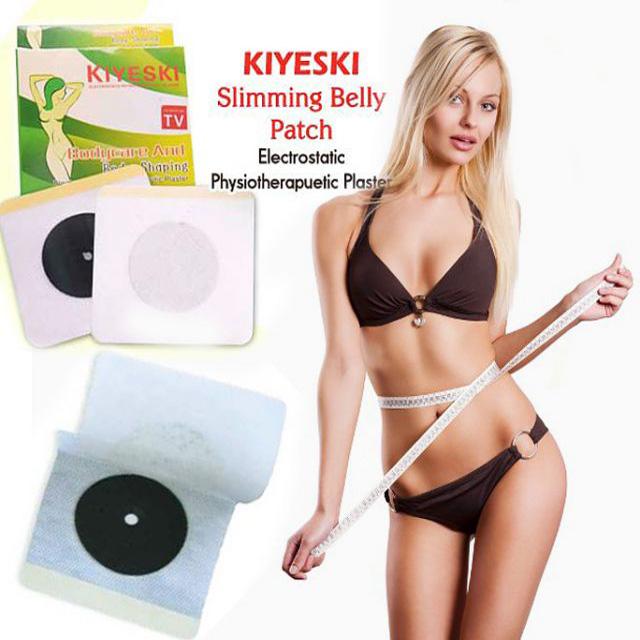 Ηλεκτροστατικά Επιθέματα KIYESKI για άμεσο και ασφαλές αδυνάτισμα - 10τμχ - KIYE υγεία  και  ομορφιά   προϊόντα αδυνατίσματος