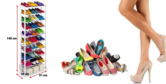 Παπουτσοθήκη – Stand για Αποθήκευση 30 Ζευγαριών Παπουτσιών – ShoeRack30