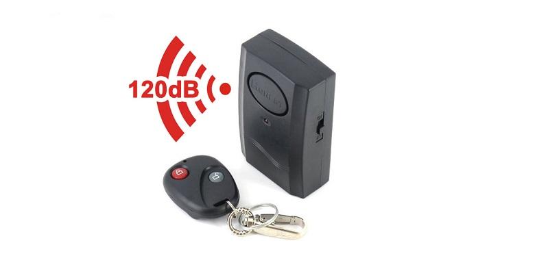 Τηλεχειριζόμενος Συναγερμός Δόνησης 120dB για το Σπίτι, το Αυτοκίνητο, την Μηχαν τεχνολογία   συναγερμοί