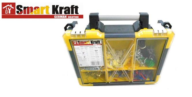 Εργαλειοθήκη βαλιτσάκι Smart Kraft 1999pcs SK-0007 - Smart Kraft σπίτι και κήπος   εργαλεία είδη επαγγελματισμού