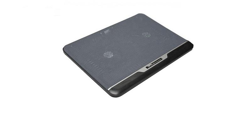 "Ultra Slim Βάση Ψύξης για Notebook - Laptop 10-17"" με 2 ανεμιστήρες HZT 20 περιφερειακά και αναλώσιμα   αξεσουάρ υπολογιστών"