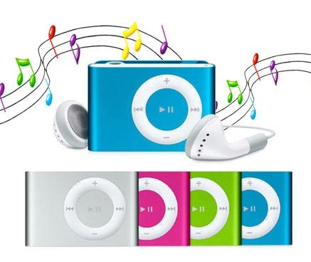 Mini portable MP3 Player Micro SD - Aluminum alloy - OEM