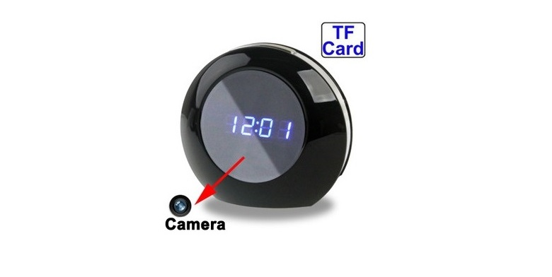 Κρυφή Κάμερα ρολόι γραφείου - σπιτιού με ανιχνευτή κίνησης! - TV gadgets   gadgets