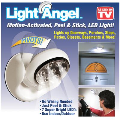 Φορητός Προβολέας LED με Αισθητήρα Κίνησης Light Angel - Light Angel σπίτι   ηλεκτρολογικός εξοπλισμός
