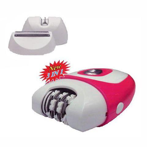 Επαναφορτιζόμενη Γυναικεία Αποτριχωτική - Ξυριστική Μηχανή 2 σε 1 Kemei KM-205 - υγεία  και  ομορφιά   αποτριχωτικές   κουρευτικές