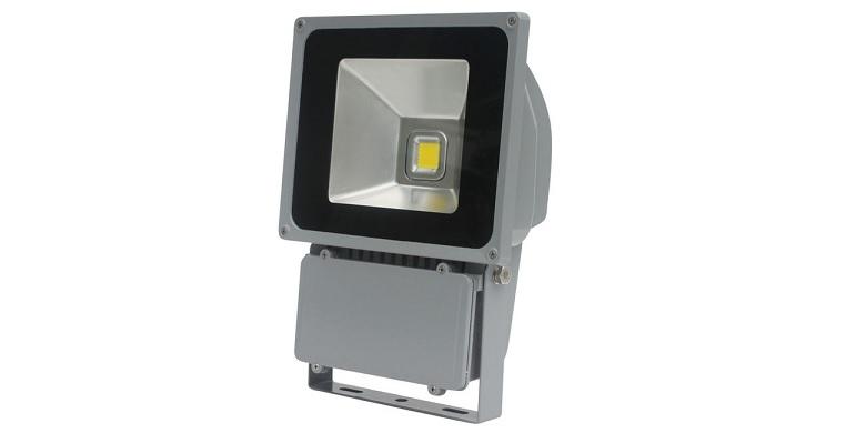 Προβολέας Εξωτερικού Χώρου, με 1 LED ισχύος 80W- IP65 & 4500Lumens! - LED FLOOD  σπίτι   ηλεκτρολογικός εξοπλισμός