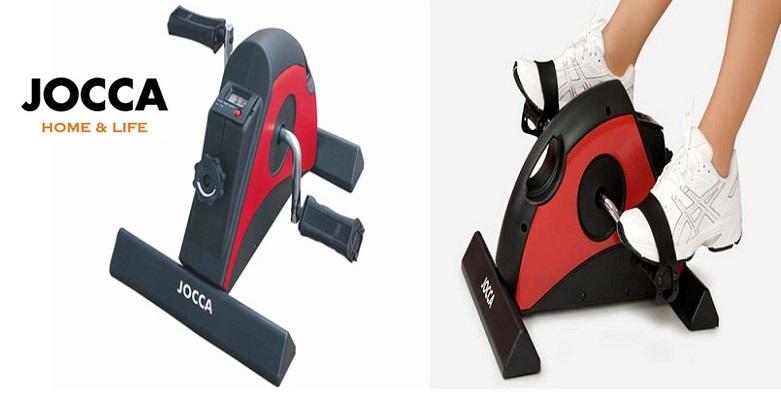 Jocca 6155R Στατικό ποδήλατο γυμναστικής, Red & Black Mini Exercise Bike - JOCCA γυμναστική  και  fitness   καθιστά ποδήλατα