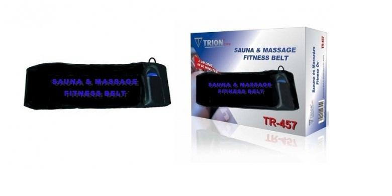 Ζώνη Αδυνατίσματος & Εκγύμνασης Sauna & Massage Belt TR-457 2 σε 1! - Sauna & Ma γυμναστική  και  fitness   παθητική γύμναση   μασάζ