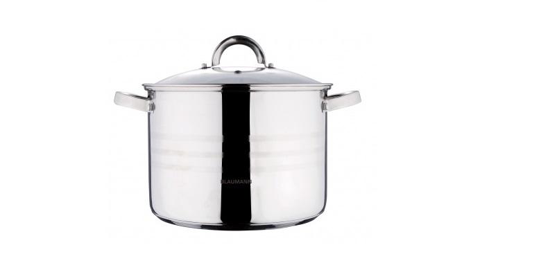 BLAUMANN BL-1006 Κατσαρόλα 16cm με Γυάλινο καπάκι - Blaumann σκεύη μαγειρικής   κατσαρόλες