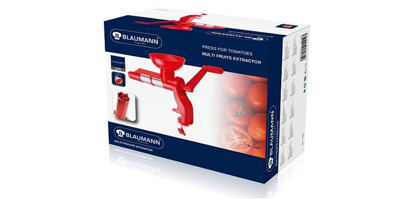 Blaumann BL-1403! Χειροκινητος Αποχυμωτης φρουτων και πρεσσα ντοματας ιδανικος γ για την κουζίνα   κουζινομηχανές   πολυκόφτες