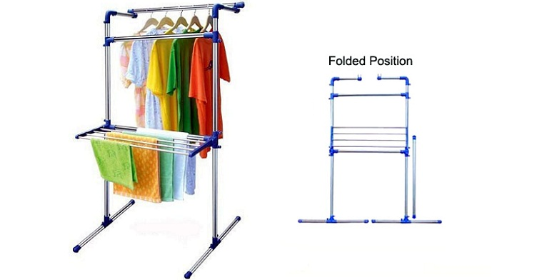 Πτυσσόμενη Κρεμάστρα Ρούχων - Απλώστρα Πύργος - Folding Laundry Drier!! - TV οικιακά είδη   διάφορα είδη για το σπίτι