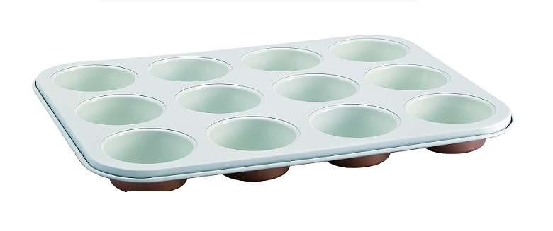 BLAUMANN BL-1604 Φόρμα 12 θέσεων για muffin Copper Line - Blaumann μαγειρικά σκεύη   φόρμες ψησίματος   γάστρες για φούρνο
