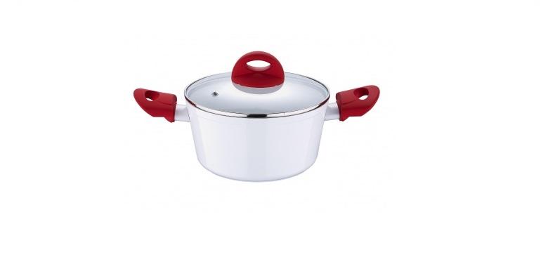 BLAUMANN BL-1040 Κατσαρόλα 24cm με Γυάλινο καπάκι - Blaumann σκεύη μαγειρικής   κατσαρόλες