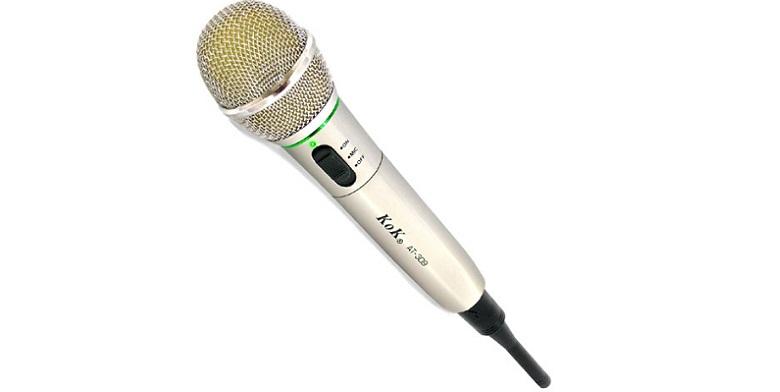 Ασύρματο Επαγγελματικό Μικρόφωνο Χειρός KoK AT-309 - KoK μικρόφωνα   ασύρματα μικρόφωνα