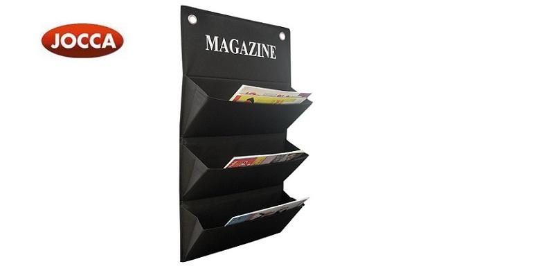 Διοργανωτής Θήκη περιοδικών με 3 διαμερίσματα, Magazine organizer, JOCCA 4694 -  οικιακά είδη   διάφορα είδη για το σπίτι
