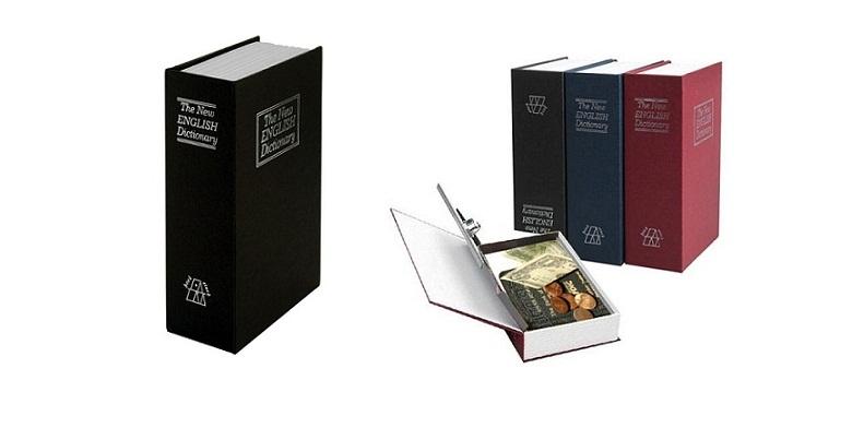 Βιβλίο Χρηματοκιβώτιο Ασφαλείας με Πολυτελές Δέσιμο και Συνδυασμό κλειδώματος- B gadgets   gadgets