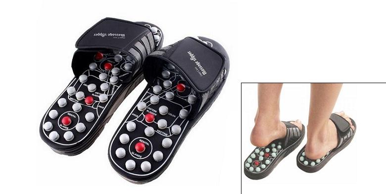 Παντόφλες Μασάζ για ρεφλεξολογία - Foot Reflex Massage Slippers! - TV ξεκούραση και ευεξία   συσκευές μασάζ
